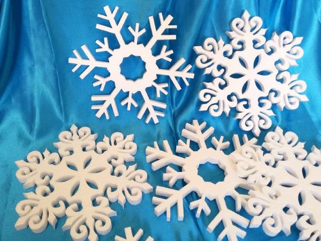 Copos de nieve de FOAMPLAST