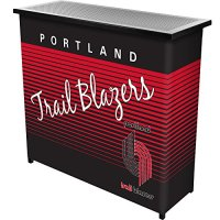 NBA-Portland-Trail-Blazers-Portable-Bar-with-Case-One-Size-Black-0