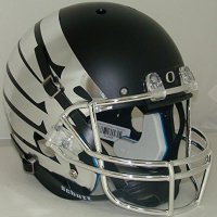 NCAA-Oregon-Ducks-Wing-Matte-Black-Replica-Helmet-One-Size-White-0