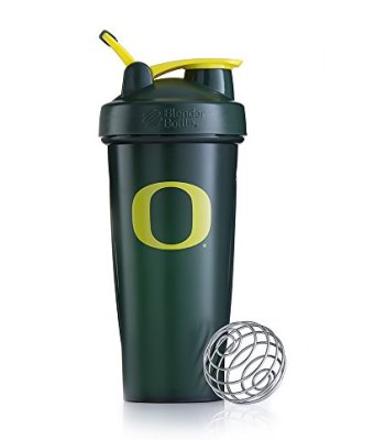 BlenderBottle-Classic-Collegiate-Shaker-Bottle-University-of-Oregon-GreenYellow-28-Ounce-0