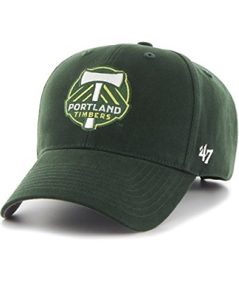 MLS-Portland-Timbers-47-Brand-Basic-MVP-Adjustable-Hat-Dark-Green-Youth-0