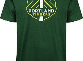 MLS-Portland-Timbers-Logo-Mens-Set-Tee-Large-Dark-Green-0