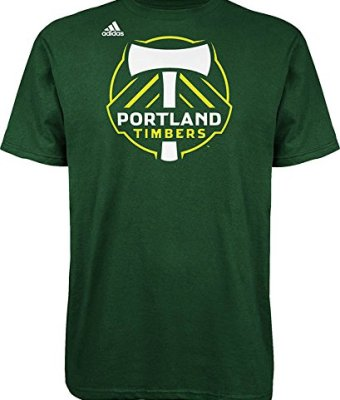 MLS-Portland-Timbers-Logo-Mens-Set-Tee-Large-Dark-Green-0