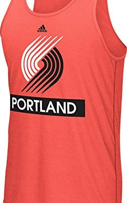 NBA-Portland-Trail-Blazers-Mens-Loud-Proud-Climalite-Ultimate-Tank-Top-Large-Red-0