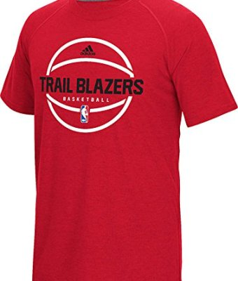NBA-Portland-Trail-Blazers-Mens-Pre-Game-Graphic-Climacool-Ultimate-Short-Sleeve-Tee-X-Large-Red-0
