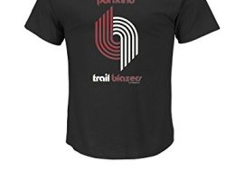 NBA-Portland-Trail-Blazers-Mens-Trail-Blazers-Renowned-Short-Sleeve-Basic-Crew-Neck-Tee-1970-90-Medium-Black-0