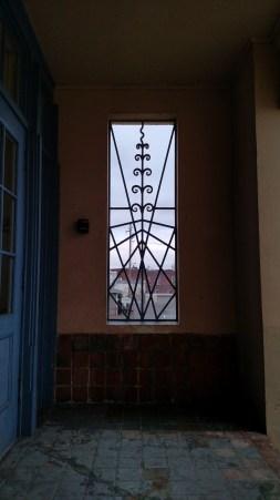 iron window grilles (my image)