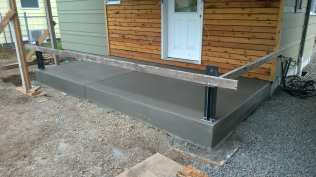 Front porch slab