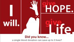 Urgent Blood Drive Donations