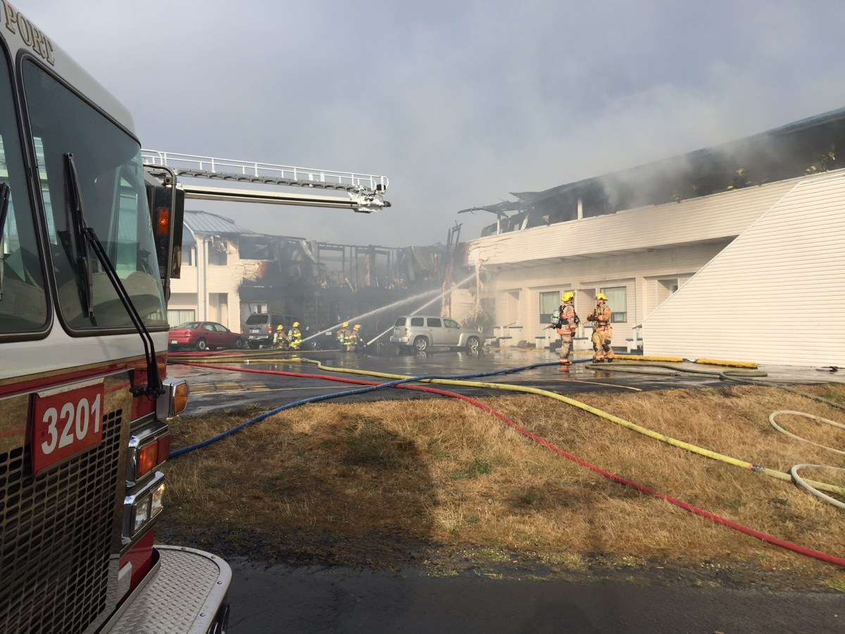 Newport Police And Fire Release Information About Arrest In The Motel Fire