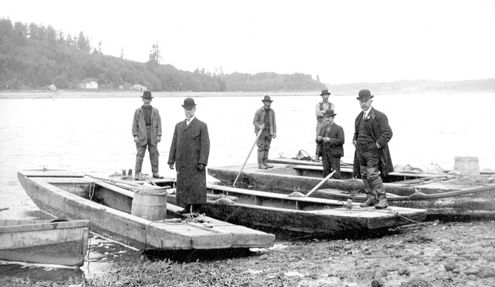 Oyster Barges, 1890