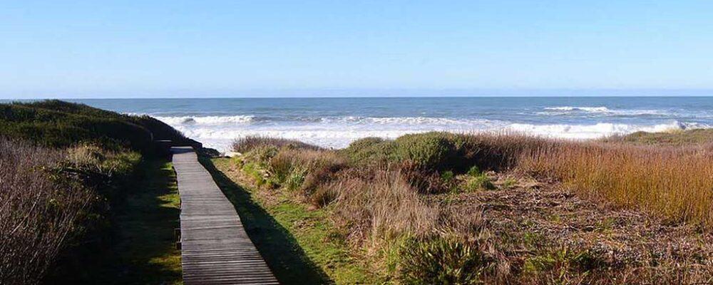 Private Boardwalk to the Beach - Beach House at Spirit Cove