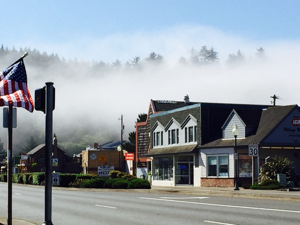 Oregon Coast Fog