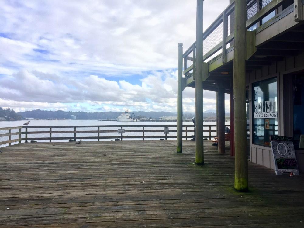 Newport Pier on the Oregon Coast