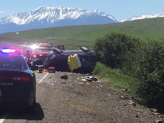 36.5, six miles north of Enterprise in Wallowa County fatal crash