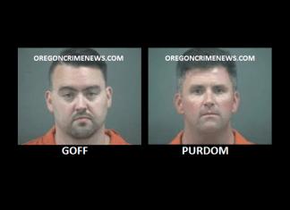 Michael Goff and Brad Purdom Newport Oregon sex abuse case mugshots