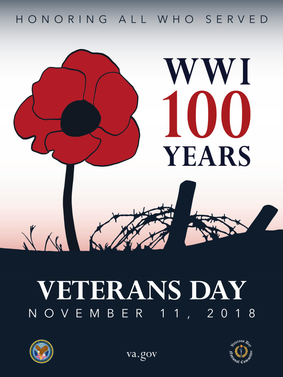 2018 Veterans Day poster