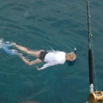 Snorkeling near Captain Cook