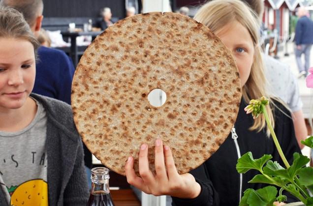Swedish crispbread in Skåne