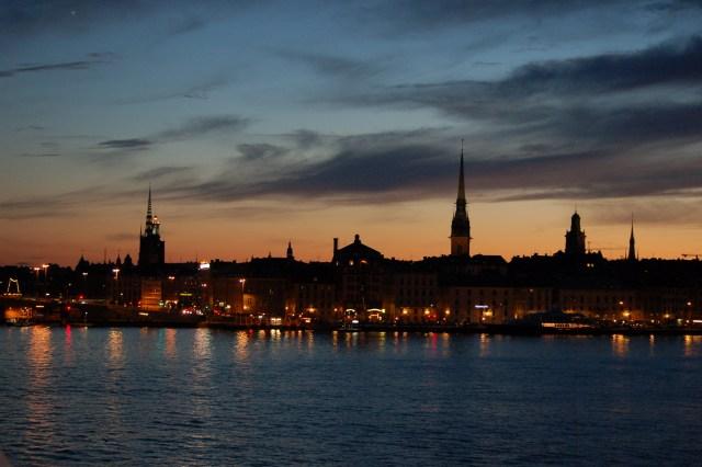 This is 11:45pm in Stockholm in June