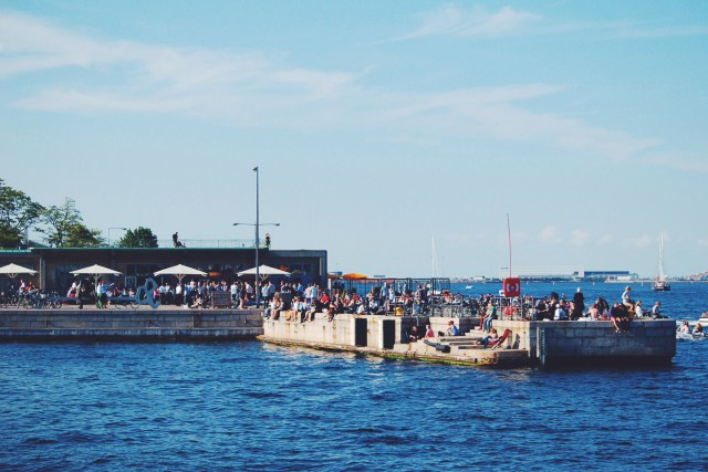 Toldbolden on the Copenhagen Harbor
