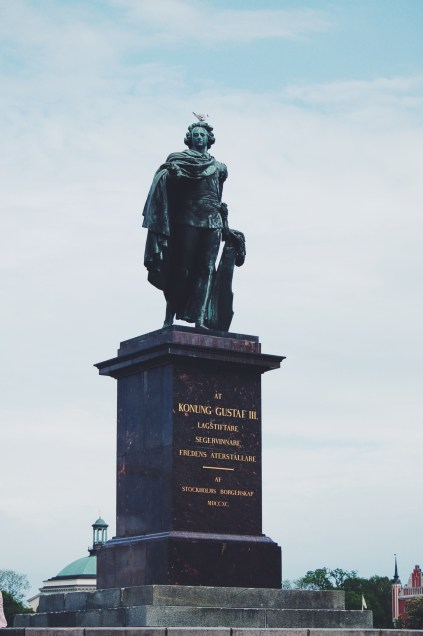 Our distant relative - we are Gustaf's sons.