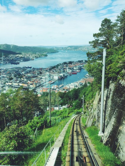 Views from Fløibanen