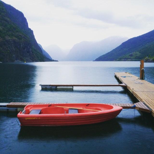 Gorgeous Aurlandsfjord, Norway