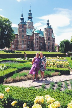 Rose Garden at the Rosenborg Slot