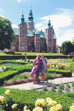 Rose Garden at the Rosenborg Slot
