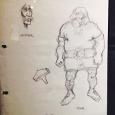 Original sketches for Thor