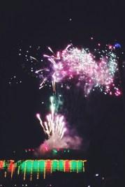 Saturday fireworks at Tivoli