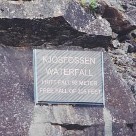 Kjosfossen Waterfall | Flamsbana | Flåm Railway | Norway by Rail from Oslo to Flåm via Oregon Girl Around the World