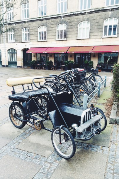 Lots of bike parking - even for THIS