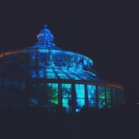 Kulturnatten 2015 - Botanical Garden all light up - Copenhagen, Denmark