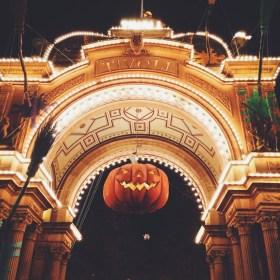 Halloween at Tivoli, Copenhagen