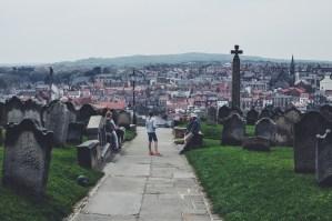 Whitby, Yorkshire, UK cemetary Dracula Oregon Girl Around the World