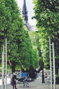 Travel tween family Paris France Ile de la Cite Oregon Girl Around the World