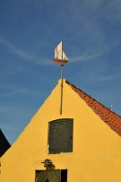 Darling Dragør Denmark House detail | Day Out from Copenhagen | Oregon Girl Around the World