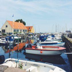 Dragør Harbor, Denmark