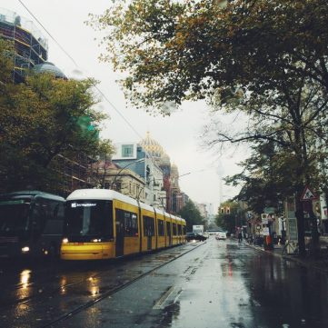 Soggy Berlin still colorful in the Fall