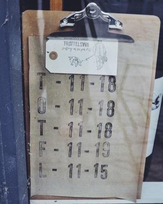 Troffelsvin Wine Shop, Copenhagen Denmark