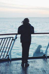 Danish ferry to Sweden on Øresund