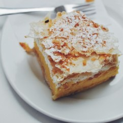 Delicious desserts in Split, Croatia from Luka Ice Cream & Cakes