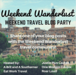 Weekend Wanderlust Travel Blog Party