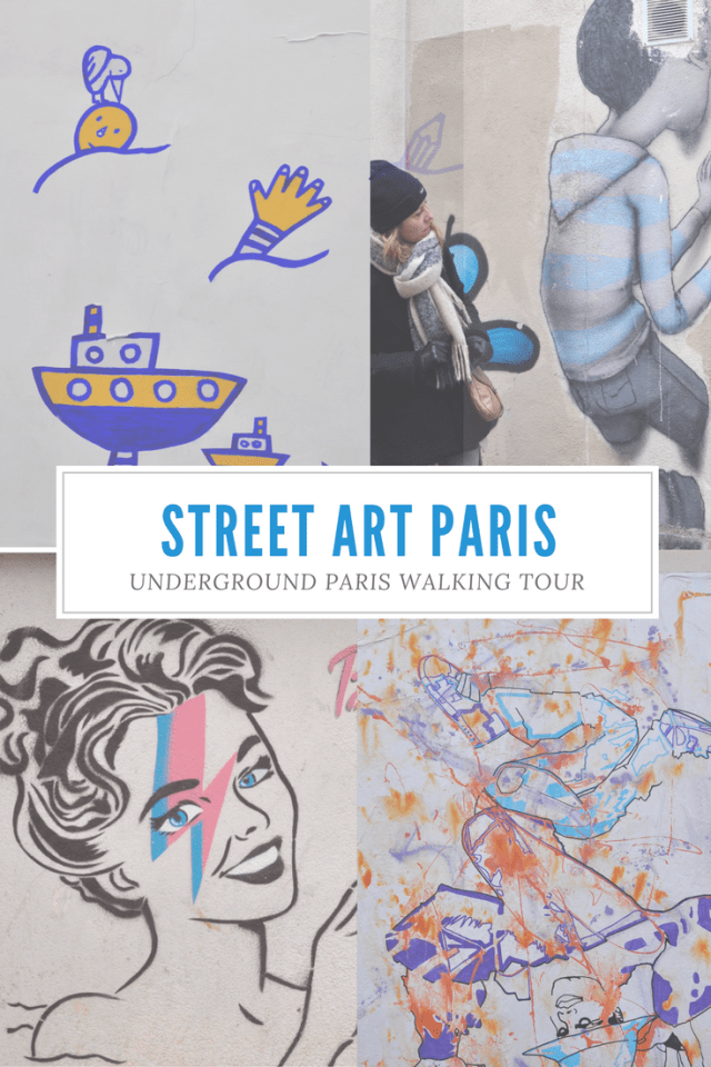 Take a Walking Tour of Street Art in Paris, France | Underground Paris Walking Tour | Oregon Girl Around the World