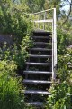 Stairs to Gamle Handelssted Museum| Norwegian Nature and History come alive in Kjerringøy, Nordland Norway | Oregon Girl Around the World