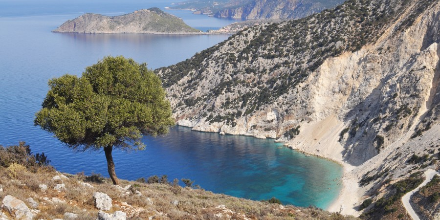 Kick it in Kefalonia Greece | Reasons to see this Ionian Island Off-Season | Oregon Girl Around the World