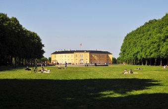 Frederiksberg Slot Palace view from Søndermarken Park Frederiksberg | Step Down into the Cisterns Copenhagen's Underground Art Space | Oregon Girl Around the World