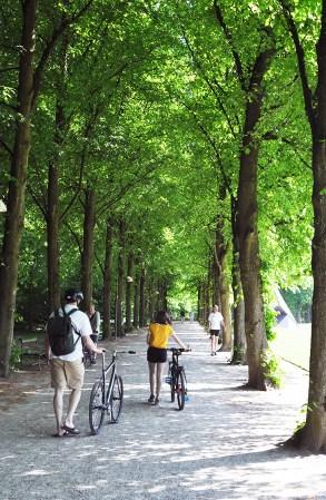 Tree Lined Paths in Søndermarken Park Frederiksberg | Step Down into the Cisterns Copenhagen's Underground Art Space | Oregon Girl Around the World